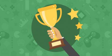 Troféu de primeiro lugar - Gamification para potencializar o aprendizado